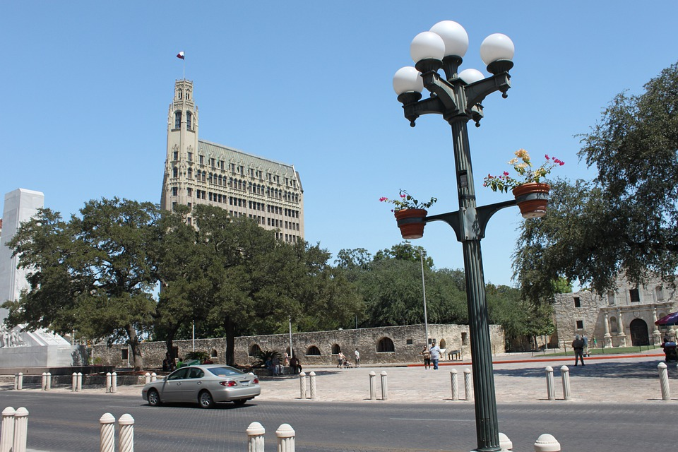 San Antonio, Texas, Downtown, City, Building, Cityscape