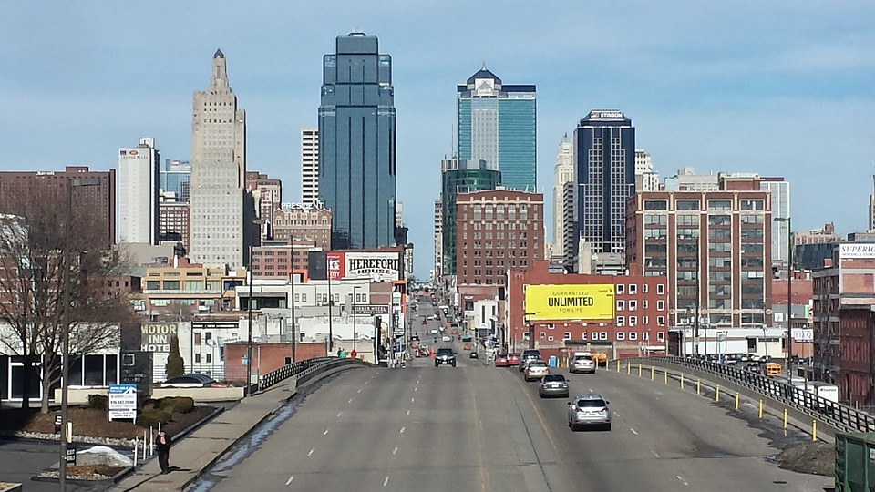Kansas City, Downtown, Building, Missouri, Landmark
