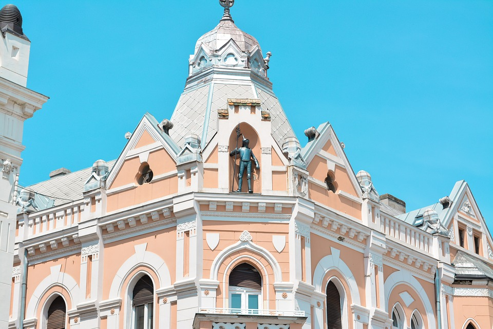 Novi Sad, Downtown, Main Square, Srbija, Serbia