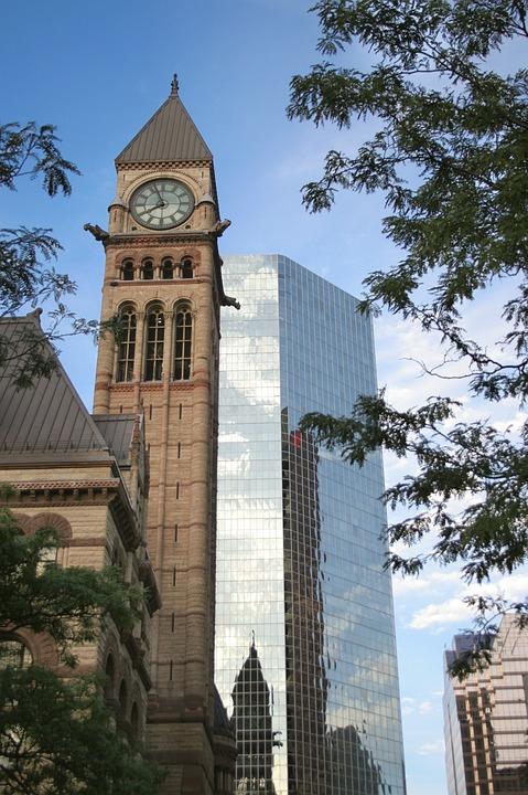 Downtown, Toronto, City Hall, City, Architecture