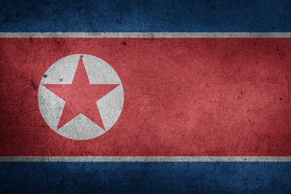 North Korea, Dprk, Korea, Juche, Asia, Flag