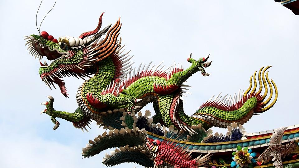 Dragon, The Myth Story, God, God'll, Temple, Animal