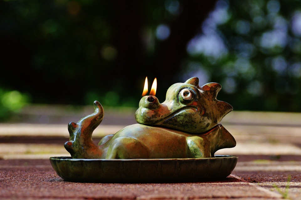 Dragon, Fire, Nostrils, Funny, Cute, Fig, Stone