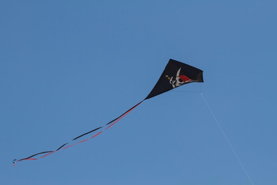 Dragons, Leisure, Fly, Dragon Rising, Sky, Flying Kites