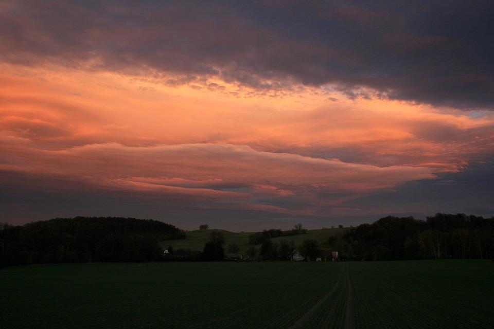 Sky, Sunset, Drama, Dawn