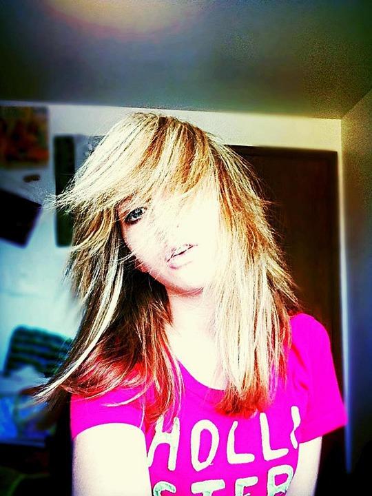 Teenager, Face, Girl, Dramatic, Fashion Model