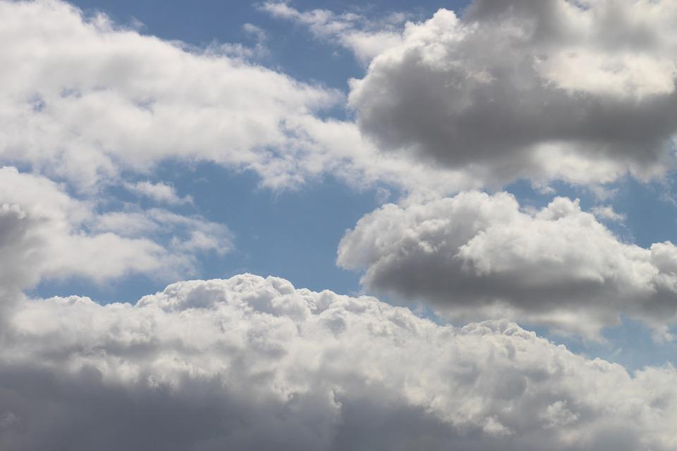 Clouds, Sky, Blue, Clouds Form, Dramatic Sky, White