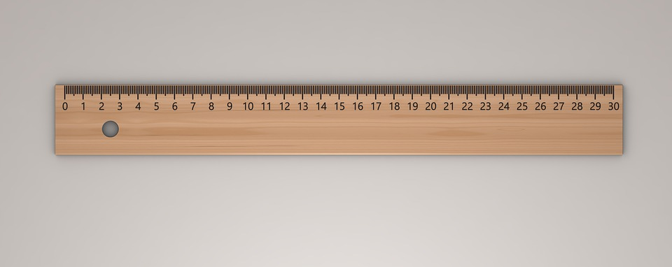 Ruler, Draw, Writing Accessories, Office Utensils