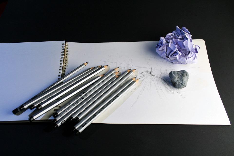 Art Pencils, Pencils, Sketch Pad, Sketch, Drawing