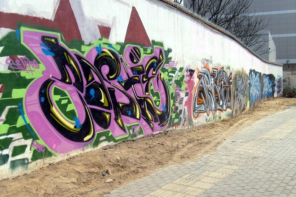 Graffiti, Drawing, Art, Sketch, Spray, Paint, Tagged