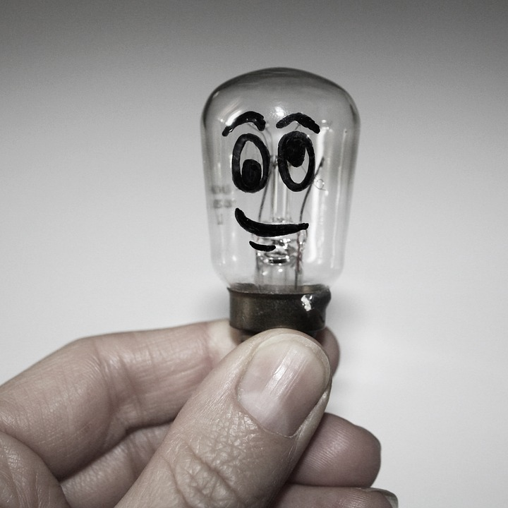 Light Bulb, Idea, Ideas, Fantasia, Drawing, Light