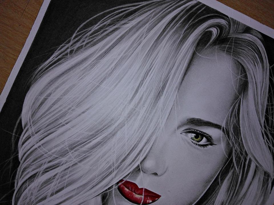 Drawing Realistic, Designer, Portrait, Draw, Drawing