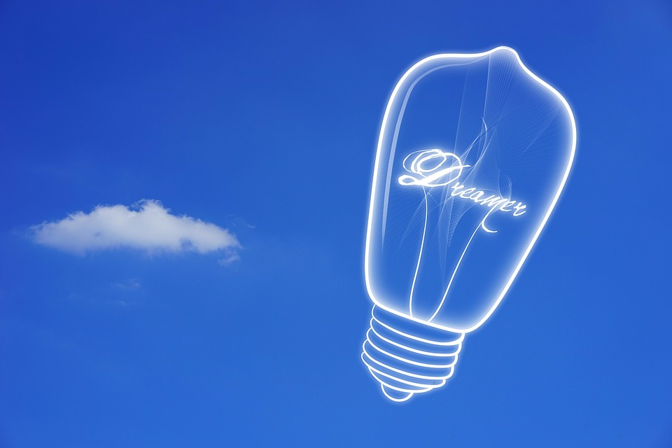 Dream, Idea, Light Bulb, Enlightenment, Incidence
