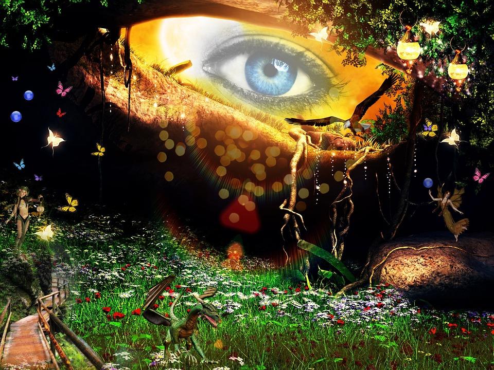 Fantasy, Eye, Mystical, Dream, Fairytale, Atmospheric