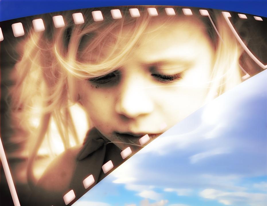 Girl, Portrait, Sepia, Face, Dreams, Dream, Photo, Film