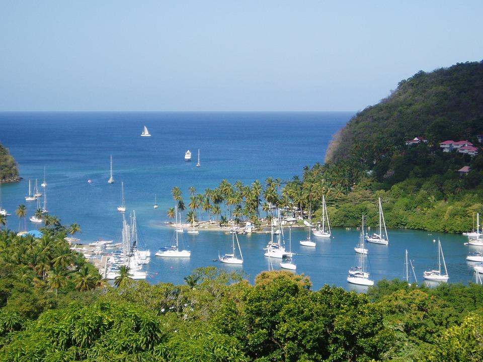 St Lucia, Caribbean, Dream, Water, Ships