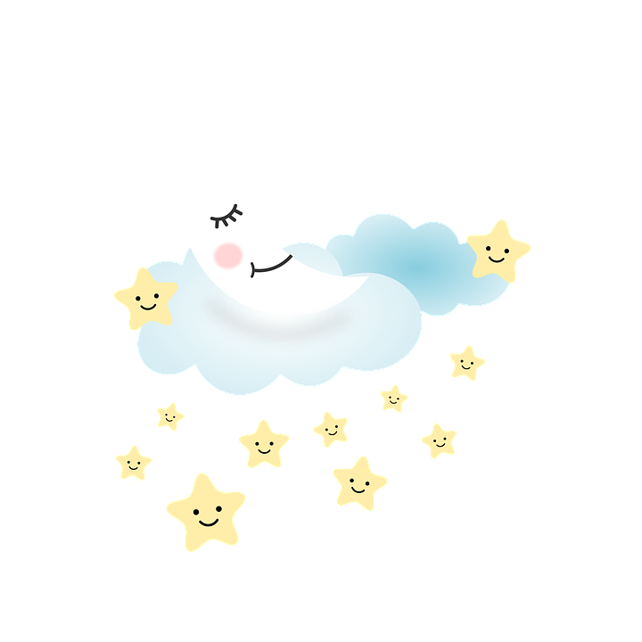 Moon, Star, Dream, Night