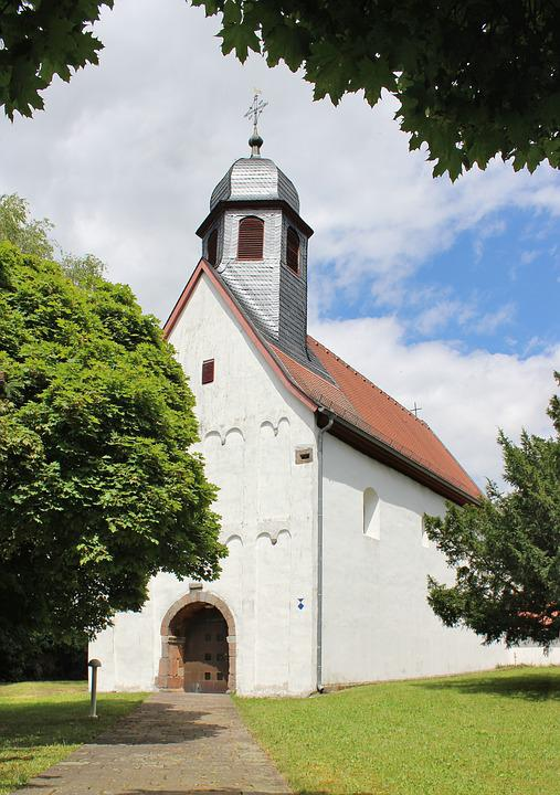 Steeple, Church, Building, Dreisen, Germany
