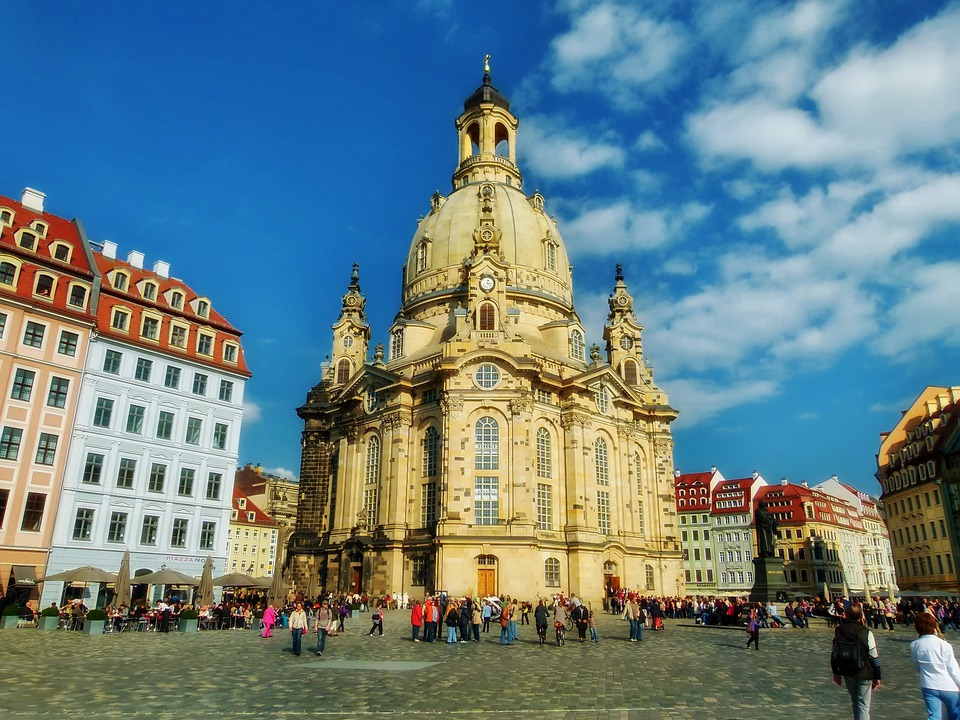 Frauenkirche, Cathedral, Church, Dresden, Germany