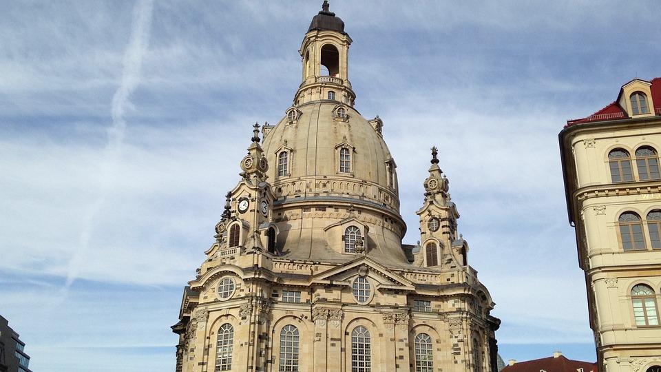 Frauenkirche, Dome, Dresden, Church, Lutheran, Germany