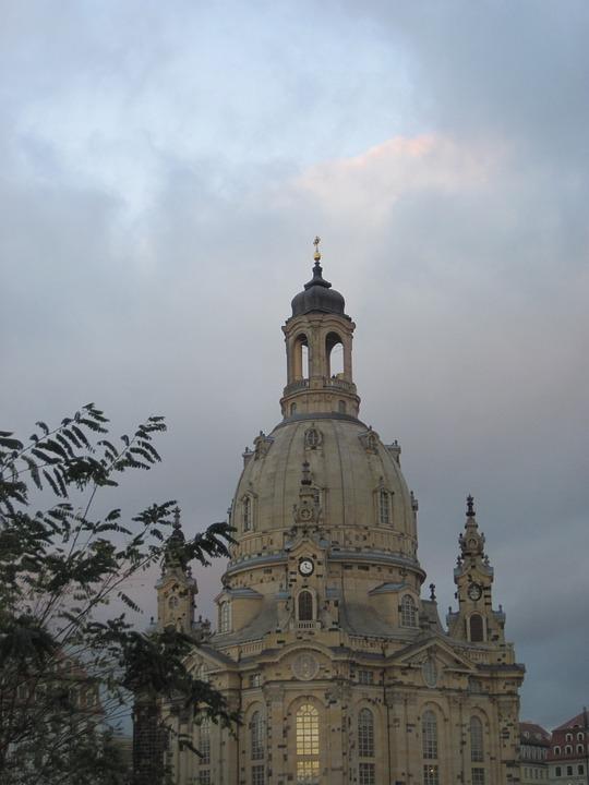 Dresden, Frauenkirche, Architecture, Church, Old Town