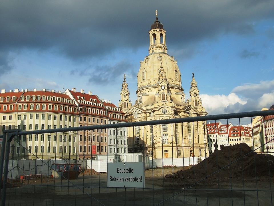 Frauenkirche, Dresden, Site