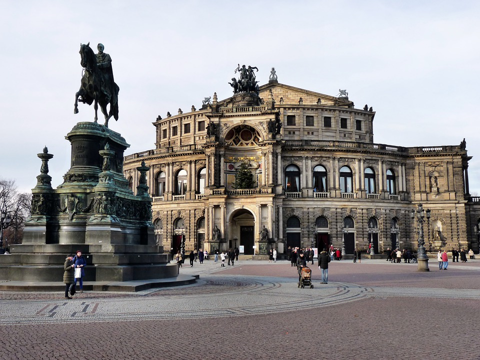 Semper Opera House, Dresden, City