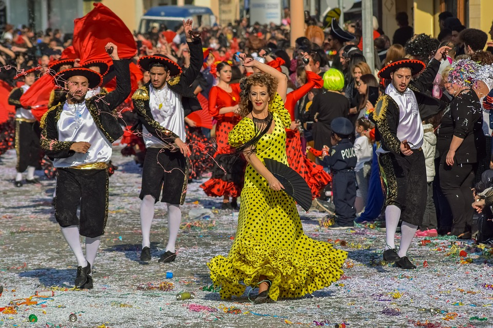 Carnival, Parade, Costume, Dress, Celebration