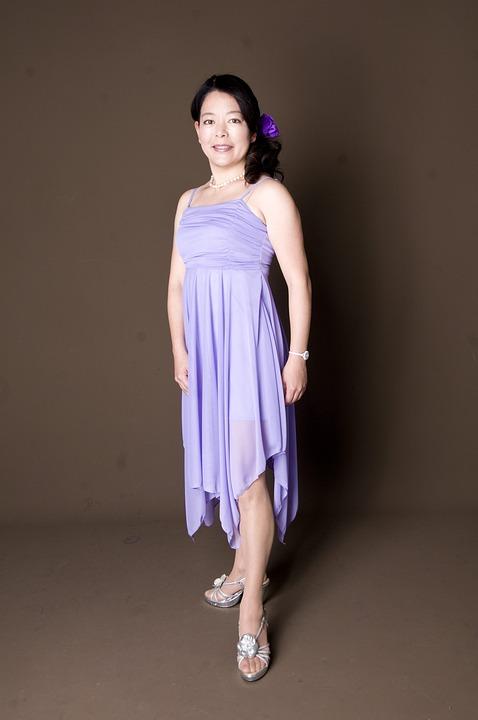 Woman, Dress, Formal