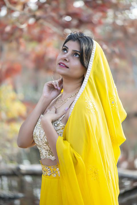 Woman, Girl, Lady, Outdoor, Indian, Dress, Outfit