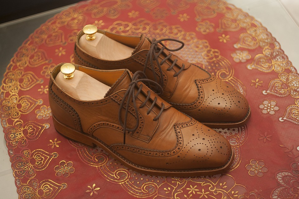 Wingtip, Dress Shoes, Leather Shoes, Full Grain, Derby
