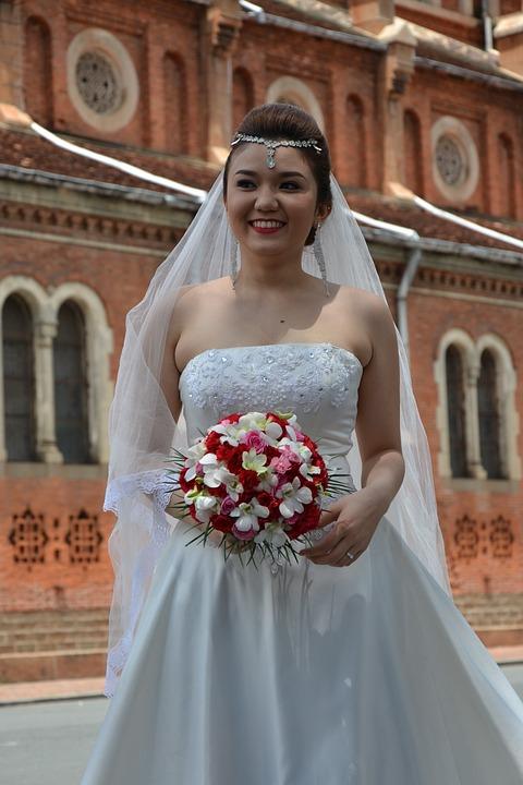 Wedding, Love, Dress Whire, Ceremony