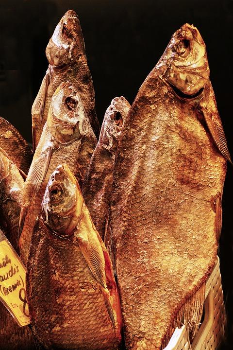 Fish, Cod, Dried, Dörr Fish, Dried Fish, Food