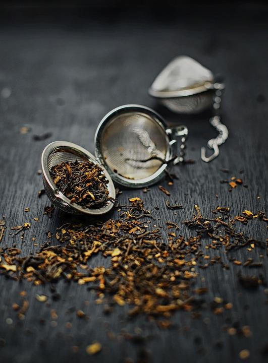 Tea, Tea Bag, Tea Leaves, Dried, Herb, Mockup
