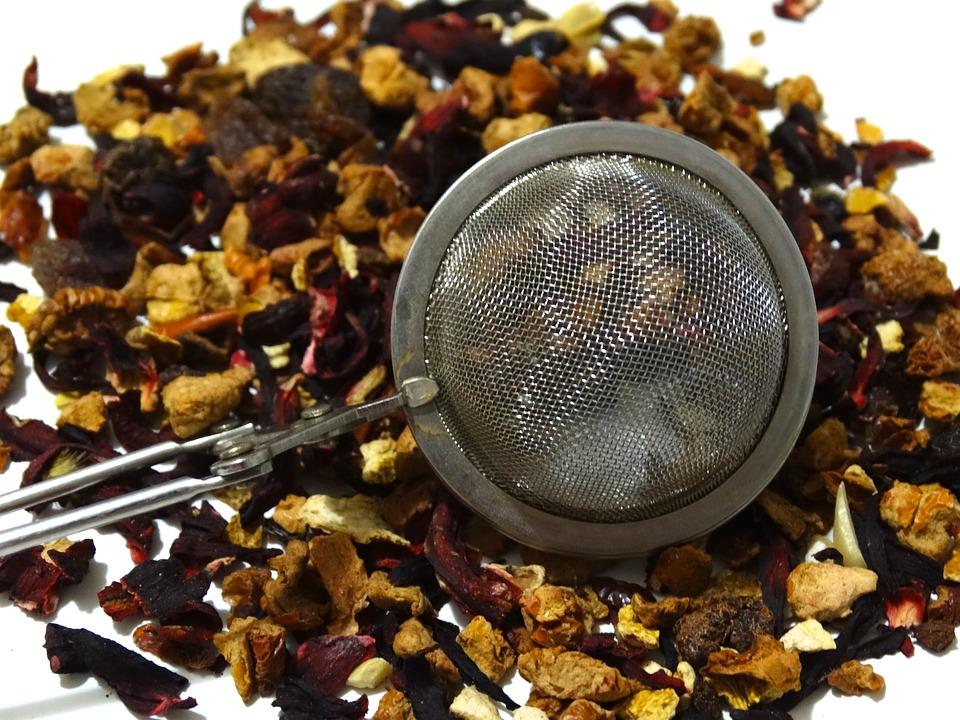 Tee, Fruit Tea, Tea Strainer, Dried