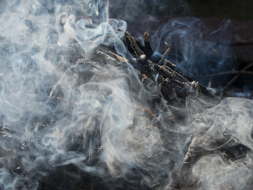 Plume, Smoke, Drift Smoke, Wads Of Smoke, Fire