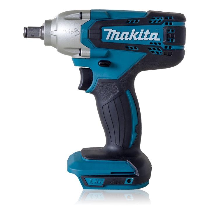 Makita Cordless Impact Wrench, Drill, Tool, Screwdriver