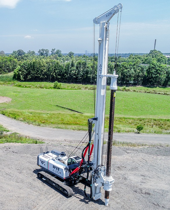 Piling Rig, Drilling Rig, Construction Rig