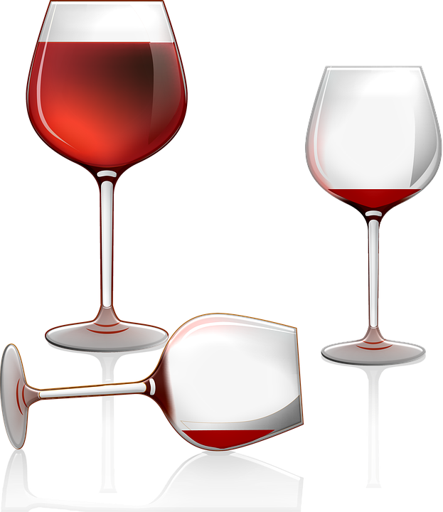 Wine Glasses, Cocktail, Drink, Glass, Bar, Alcohol