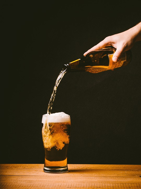 Beer, Pouring, Glass, Drink, Alcohol, Bar, Pub