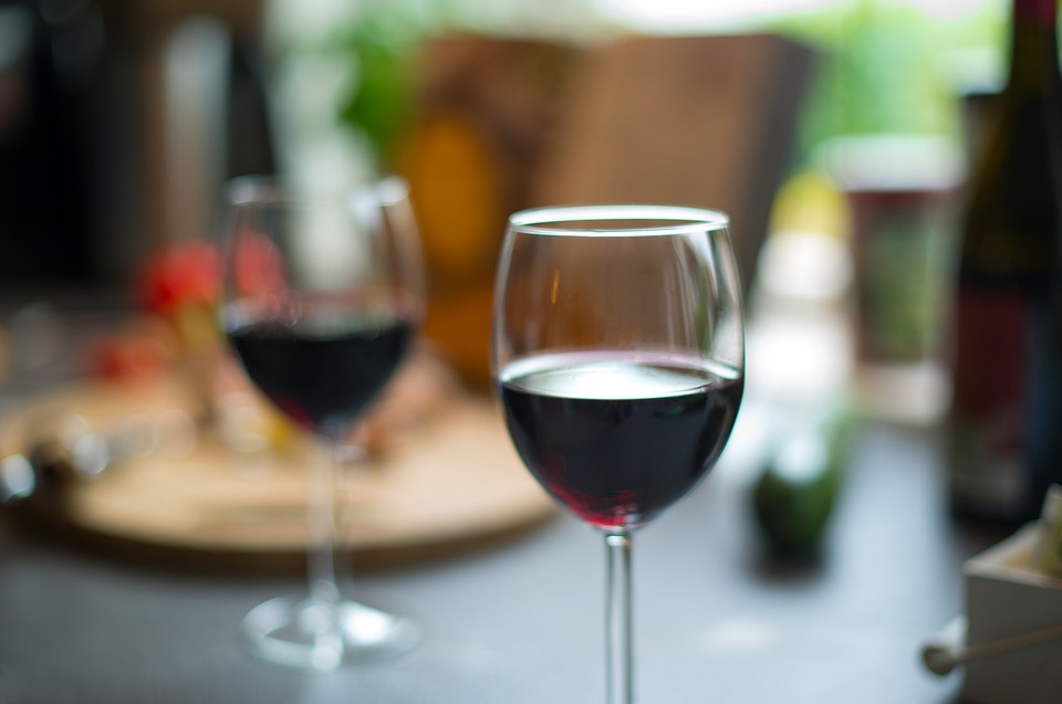 Red, Wine, Glasses, Glass, Drink, Alcohol, Beverage