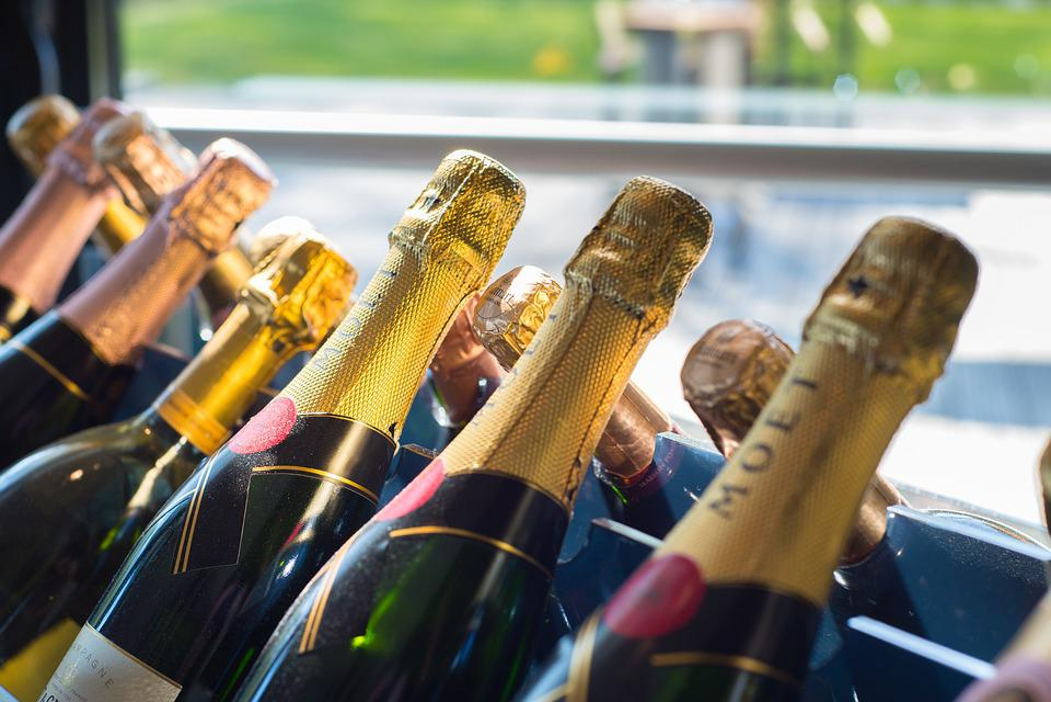 Champagne, Bottles, Wine, Party, Celebration, Drink