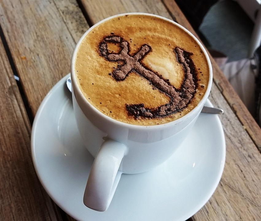 Coffee, Cappuccino, Anchor, Cafe, Drink, Ship, Ahoy