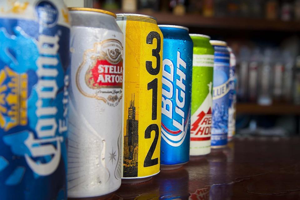 Cans, Beer, Alcohol, Drink, Bar, Beverage, Pub