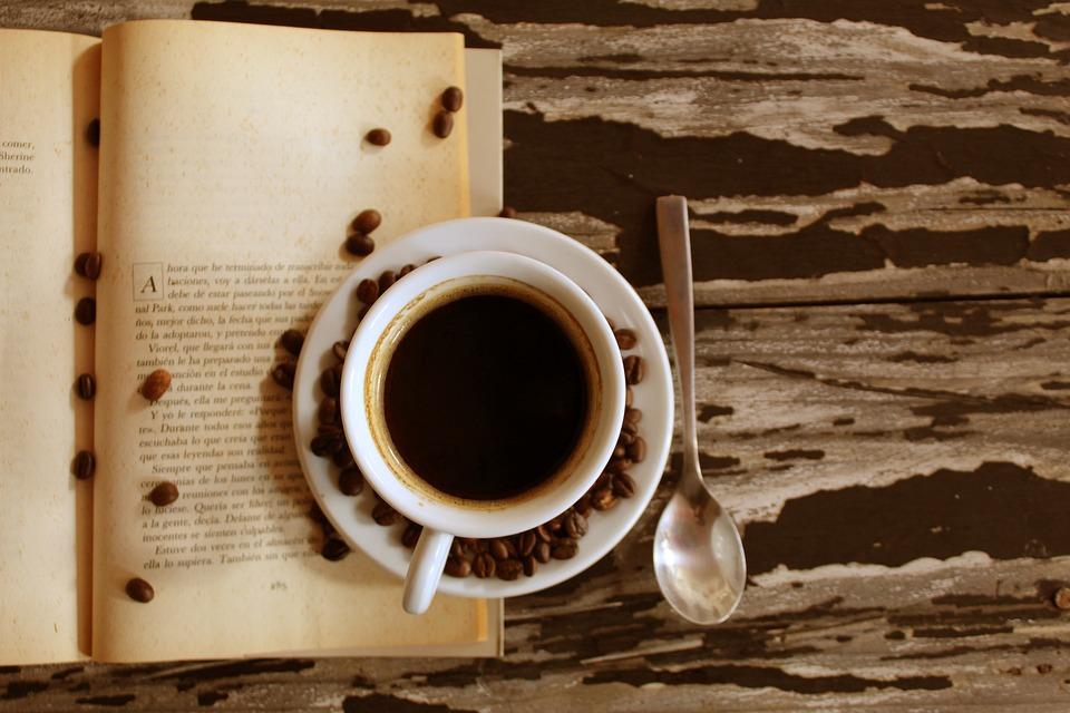 Coffee, Vintage, Books, Mug, Drink, Brown, Retro, Tea