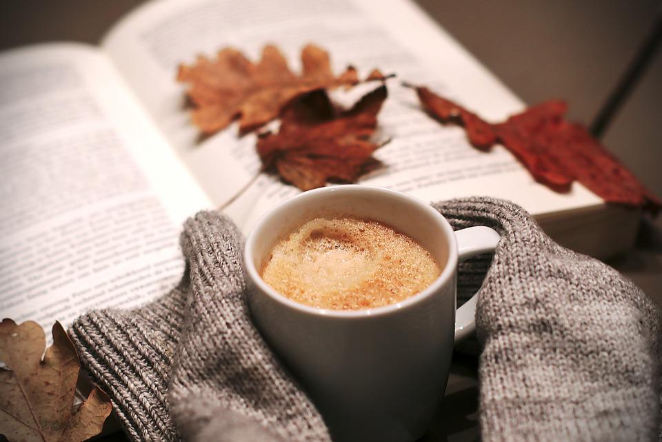 Coffee, Food, Drink, Hottest, Leaves, Winter, Cold