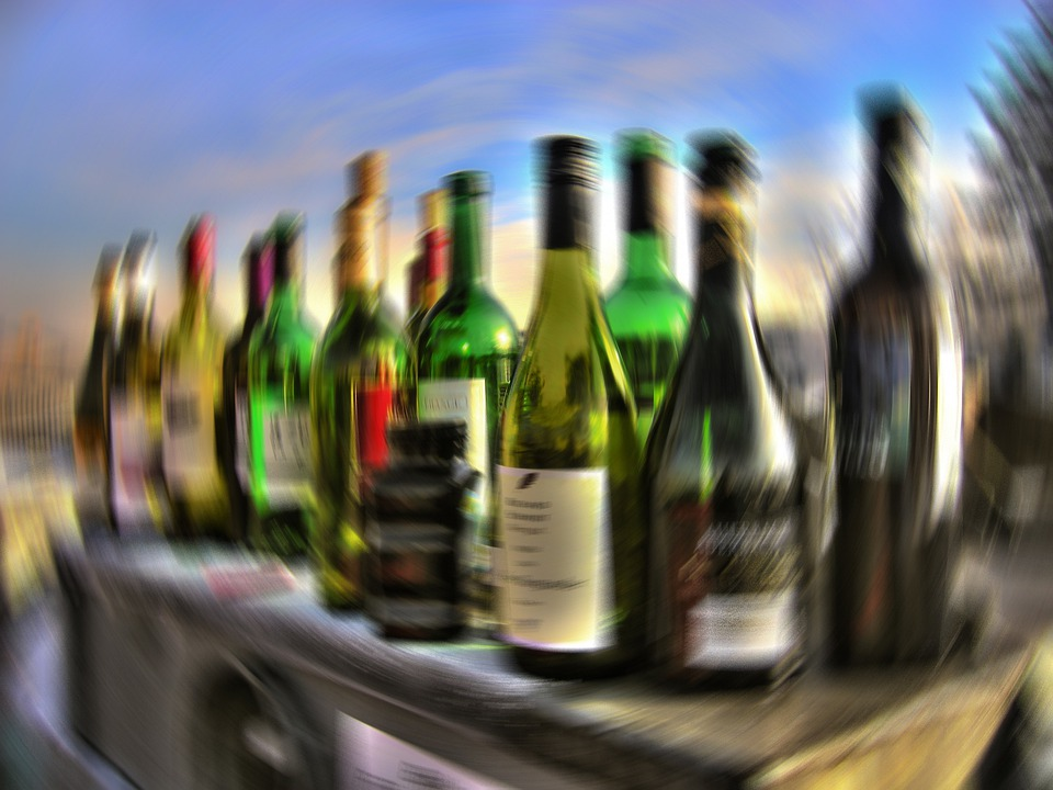Alcohol, Drink, Alkolismus, Bottles, Glass, Container