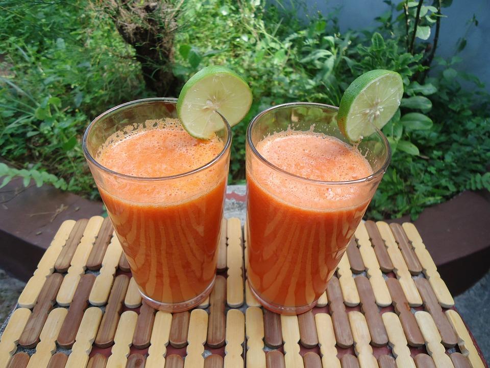 Juice, Carrot, Fresh, Healthy, Drink, Diet
