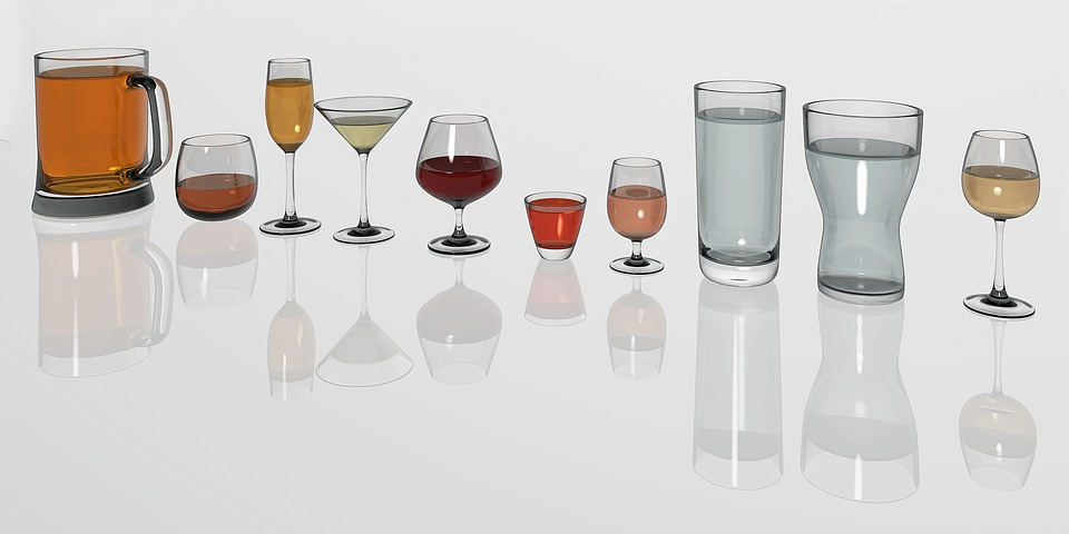 Drinking Glass, Glasses, Mirroring, Glass, Drink
