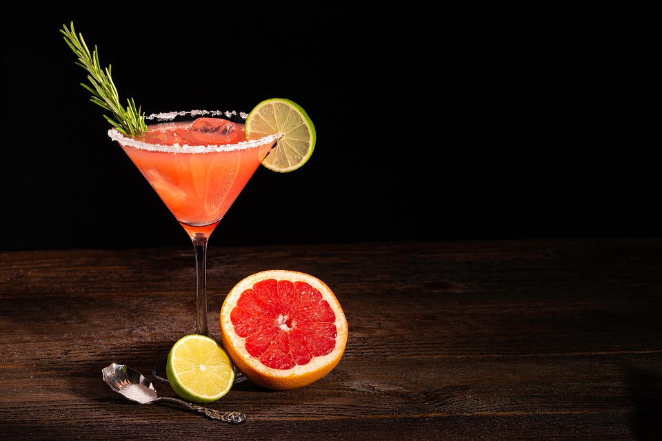 Cocktail, Drink, Thirst, Grapefruit, Glass, Beverages